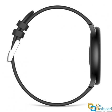Ceas smartwatch Kingwear KW19, 128KB Ram + 256KB ROM, display 1.3inch TFT cu touch screen, rezolutie 240 * 240 pixeli, baterie 140mAh Polymer