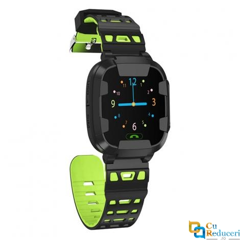 Ceas smartwatch Kingwear Y88, display 1.44inch TFT cu touch screen, rezolutie 240 x 240 pixeli, baterie 680mAh, camera: 300,000 pixels