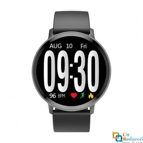 Ceas smartwatch Kingwear S8, 64 KB Ram + 32 MB ROM, display 1.3inch TFT cu touch screen, rezolutie 240 * 240 pixeli, baterie 170mAh