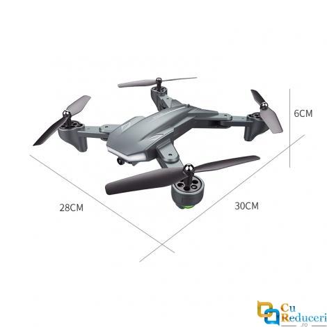 Drona Visuo XS816 4K, brate pliabile, wifi, buton de Return To Home, camera 1080p cu transmisie live pe telefon