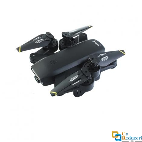 Drona Visuo SG700-S 4K, brate pliabile, wifi, buton de Return To Home, camera 1080p cu transmisie live pe telefon
