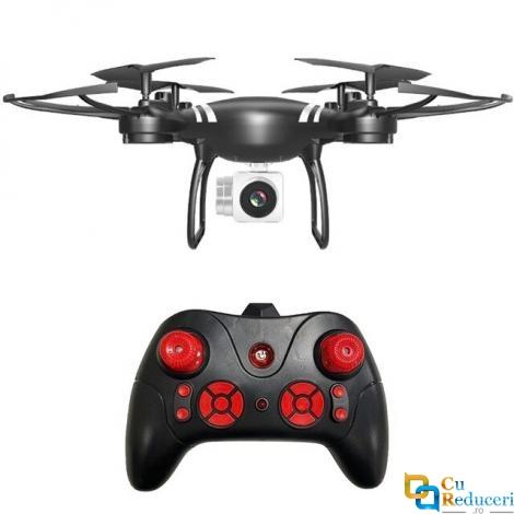 Drona CSJ KY101D 4K, wifi, buton de Return To Home, camera 4K HD cu transmisie live pe telefon, capacitate baterie: 3.7V 1800 mAh, autonomie zbor ~ 20 de minute