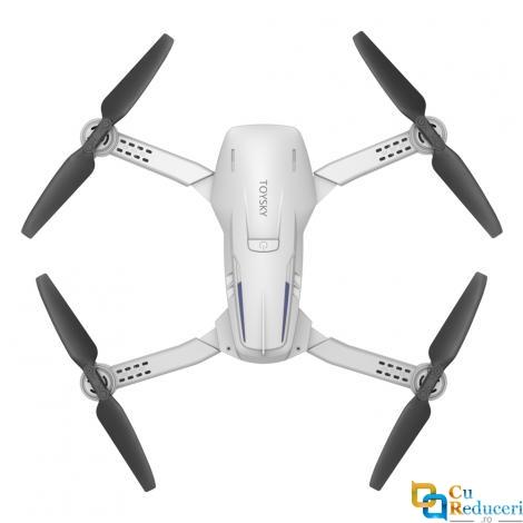 Drona CSJ S162 GPS 5G 4K, brate pliabile, wifi, buton de Return To Home, camera 4K HD cu transmisie live pe telefon, capacitate baterie: 7.4V 1200 mAh, autonomie zbor ~ 18 de minute