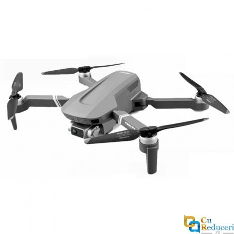 Drona SLX F4 4K 5G GPS, brate pliabile, wifi, buton de Return To Home, camera 4K HD cu transmisie live pe telefon, capacitate baterie: 7.4V 3500 mAh, autonomie zbor ~ 25 de minute