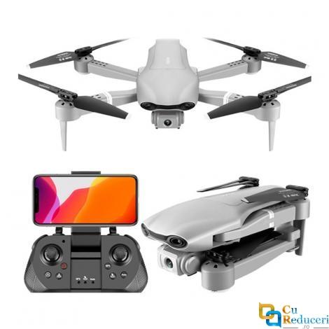 Drona SLX  F3 4K 5G GPS, brate pliabile, wifi, buton de Return To Home, camera 4K HD cu transmisie live pe telefon, capacitate baterie: 7.4V 2000 mAh, autonomie zbor ~ 23 de minute