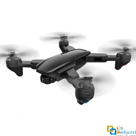 Drona SLX SG701S 4K 5G GPS, brate pliabile, wifi, buton de Return To Home, camera 4K cu transmisie live pe telefon, capacitate baterie: 7.4V 1300 mAh, autonomie zbor ~ 16 de minute