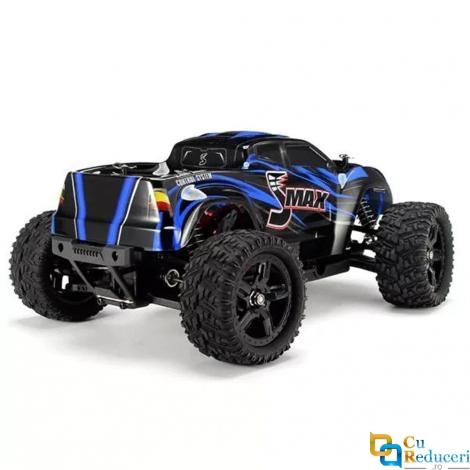 Masina cu telecomanda JJRC 1631 albastra, 4WD, 1:16, 2.4G, viteza maxima ~50 km/h, acumulator 7.4V 1500 mAh Li-Ion, autonomie ~25min