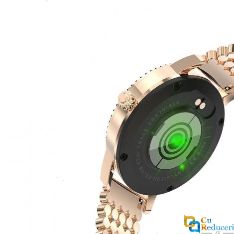 Ceas Smartwatch Kingwear LW20 PRO, senzor de ritm cardiac, rezistent la apa IP68, 128Kb RAM + 64Mb ROM, display 1.04 inch TFT cu touch screen, rezolutie 240 * 198 pixeli, capacitate baterie 120mAh