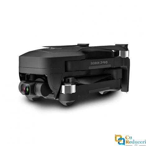 Drona SLX SG906 PRO 2 4K 5G GPS, buton de Return To Home, stabilizator 3 axe, camera Sony 4K HD cu transmisie live pe telefon, capacitate baterie: 7.6V 3400 mAh, autonomie zbor ~ 26 de minute