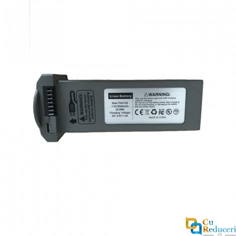 Acumulator Drona F4 GPS 4K 5G - 7.4V 3500 mAh