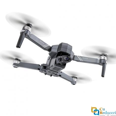 Drona SLX F11 PRO 4K 5G GPS, brate pliabile, wifi, buton de Return To Home, camera 4K HD cu transmisie live pe telefon, capacitate baterie: 11.1V 2500 mAh, autonomie zbor ~ 26-28 de minute
