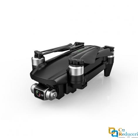 Drona CSJ KF100, camera foto 6K ESC HD Gimbal cu trei axe, distanta de control: ~1200 m, autonomie zbor ~ 35 de minute, suport card SD, WIFI 5G, buton de Return To Home, baterie 11.1V 2800 mAh