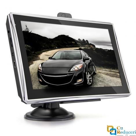 Navigator GPS, X5, 5 inch cu touch screen, memorie 8GB, cache 256M, rezolutie  800 x 480 pixeli, capacitate baterie 1200 mAh, harti IGO/Navitel, harta Europei + actualizari pe viata a hartilor
